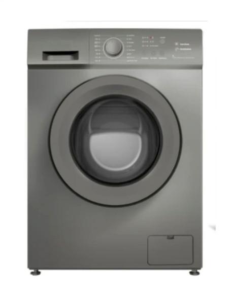 Powerpoint, P35106SKINOX, 6Kg 1000RPM Washing Machine, Grey