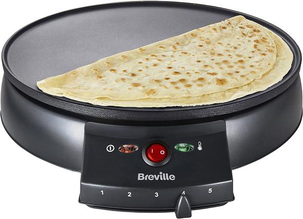 Breville, VTP130, Traditional Crepe Maker, Black