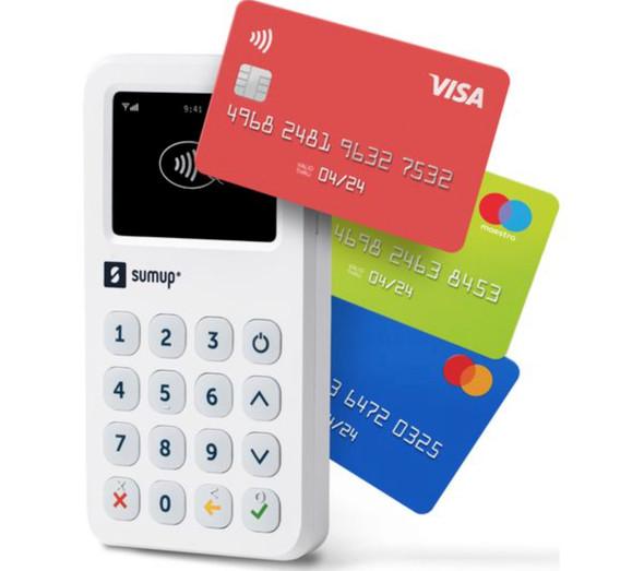 SumUp, 803600201, 3G Retail Package - IE/EU, White