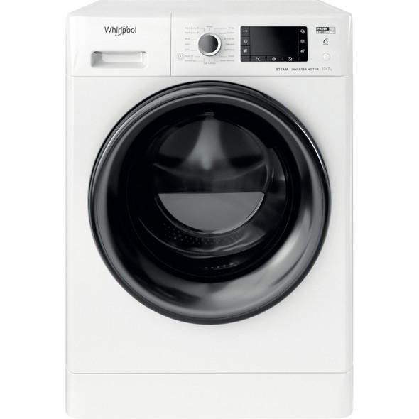 Whirlpool, FWDD1071682WBV, White 10+7kg 1600rpm Washer Dryer, White