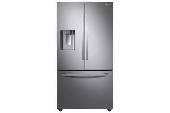 Samsung, RF23R62E3SR/EU, 3 Door Ice And Water American Fridge Freezer, Platinum Silver