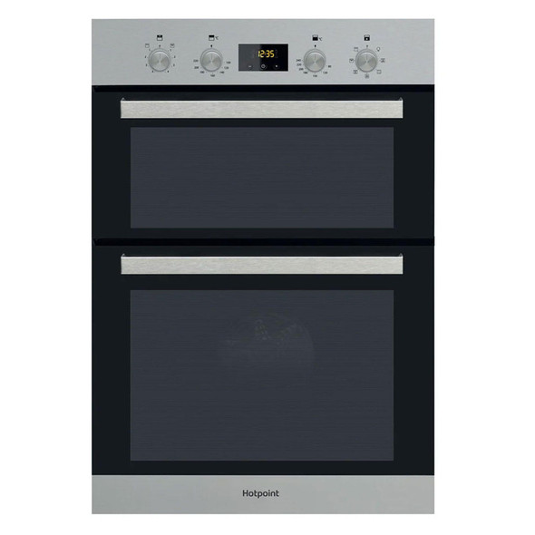 Hotpoint, DKD3841IX, Multifunction Electric Built-in Double Oven, Stainless Steel
