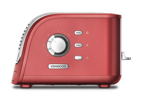 Kenwood, Tcm300rd, 2 Slot Turbo Toaster, Red