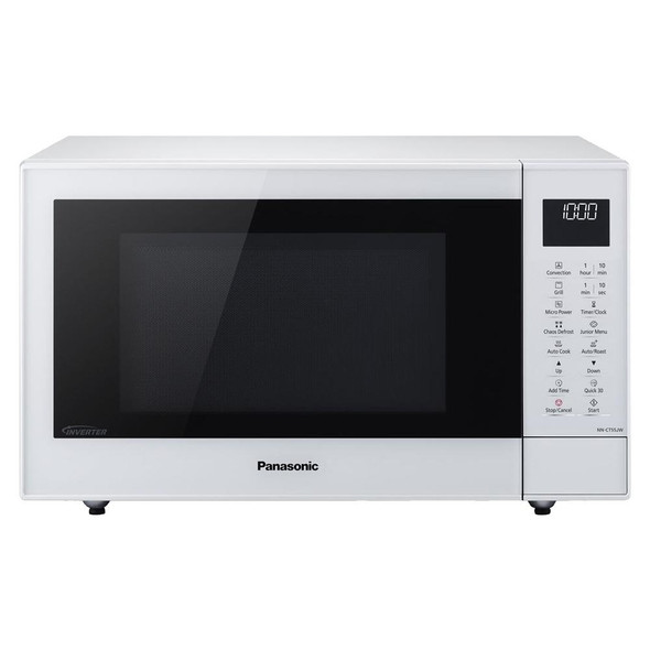 Panasonic, NN-CT55JWBPQ, Slimline Design, Microwave White