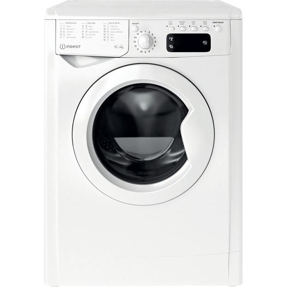 Indesit, IWDD75145UKN, 7kg Washer / 5kg Dryer Freestanding Washer Dryer, White