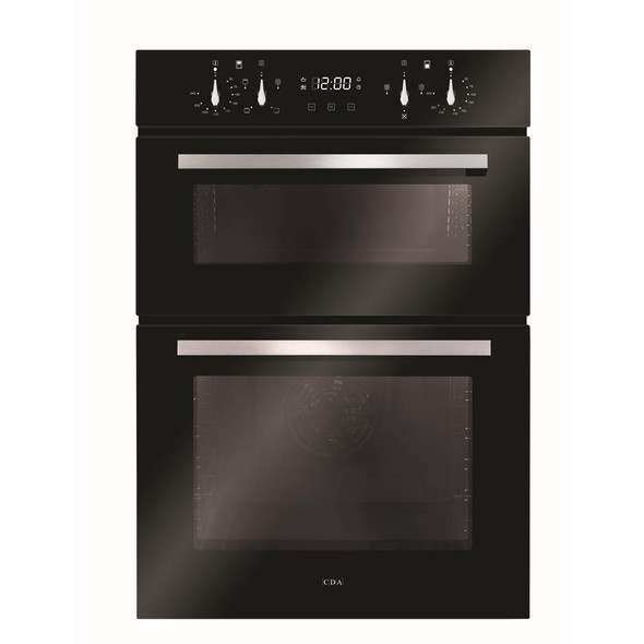 Cda, DC941BLK, Built-in Electric Double Oven, Black