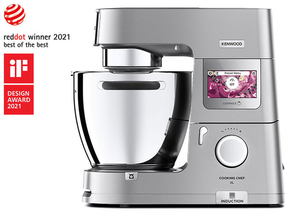 Kenwood, Kcl95.424si, Cooking Chef Xl, Silver