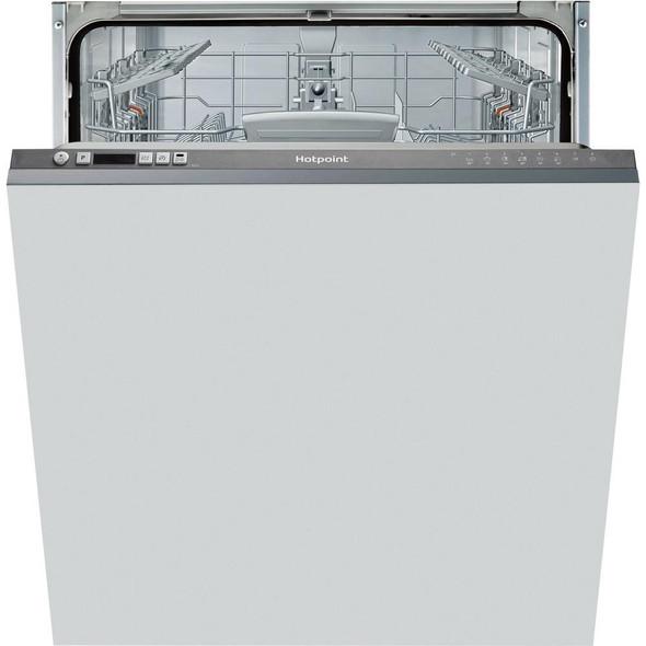 Hotpoint, HIC3B19, Integrated Dishwasher Cuk, White