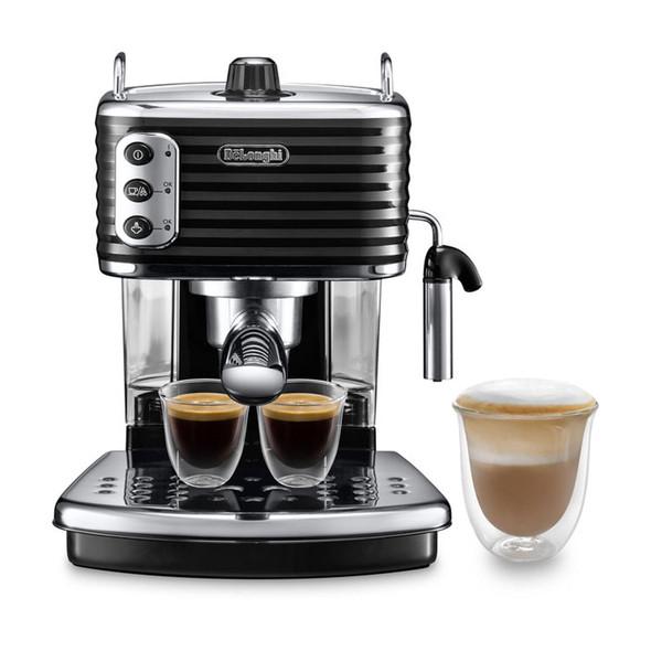 Delonghi, Ecz351.Bk, De'longhi Scultura Pump Espresso Machine, Black