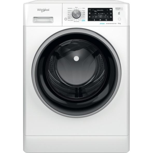 Whirlpool, FFD9448BSVUK, 6th Sense Freshcare + 9kg 1400 Spin Washing Machine, White