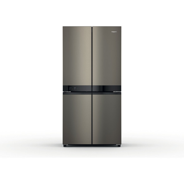 Hotpoint, HQ9U1BL, 4 Door Stainless Steel Fridge Freezer, Stainless Steel