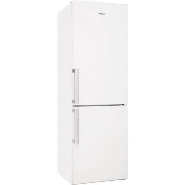 Whirlpool, W5811EWUK, 60/40 White Freestanding Fridge Freezer, White