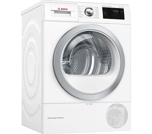 Bosch, WTWH7660GB, Serie 6, White