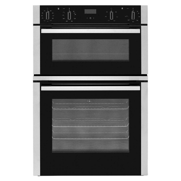 Neff, U1ACE5HN0B, Built-in Electric Double Oven With Circotherm, Black