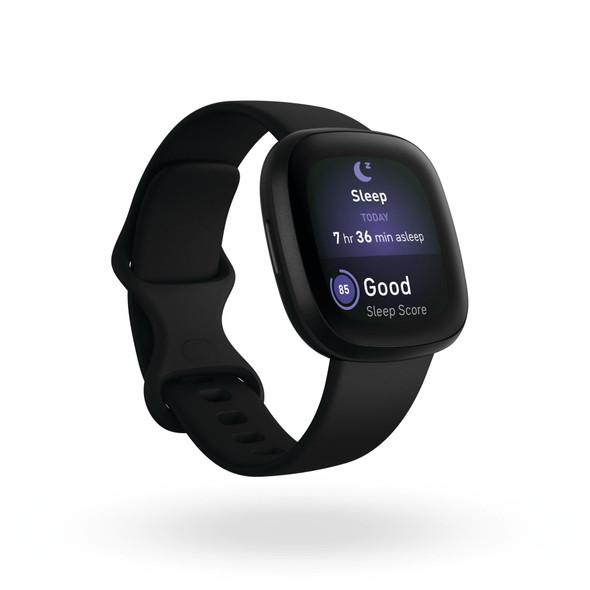 Fitbit, Fb511bkbk, Versa 3, Black