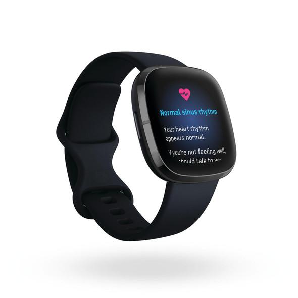Fitbit, Fb512bkbk, Sense, Carbon/Graphite