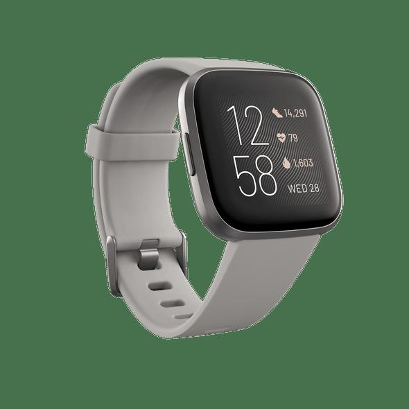 Fitbit, Fb507gysr, Versa 2 Health & Fitness Smart Watch, Grey