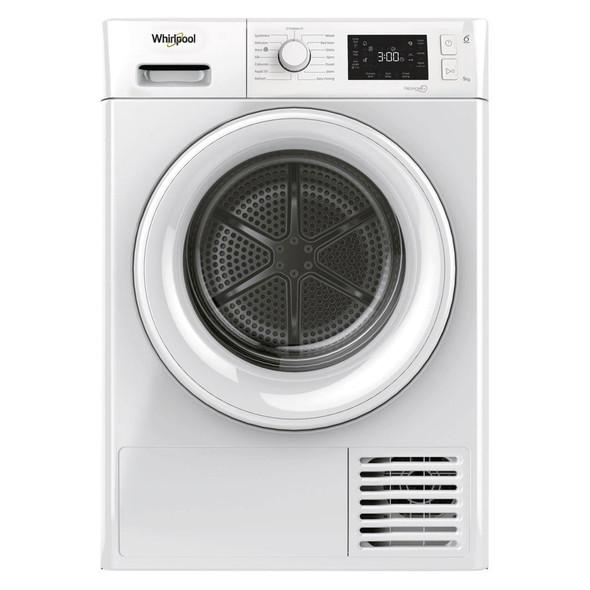 Whirlpool, FTM229X2UK, 9kg Heat Pump Condensor Dryer With 6th Sense, White
