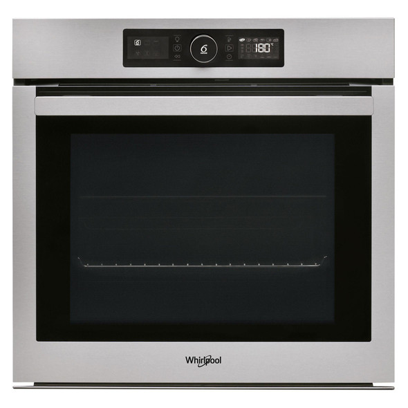 Whirlpool, AKZ96270IX, Touch Control Multifunction Single Oven With Pyrolytic Cleaning, Stainless Steel