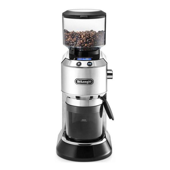 Delonghi, Kg521.M, Dedica Digital Coffee Grinder, Silver