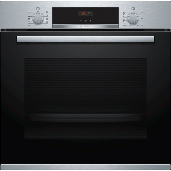 Bosch, HBS534BS0B, Serie   4 Single Oven, Stainless Steel