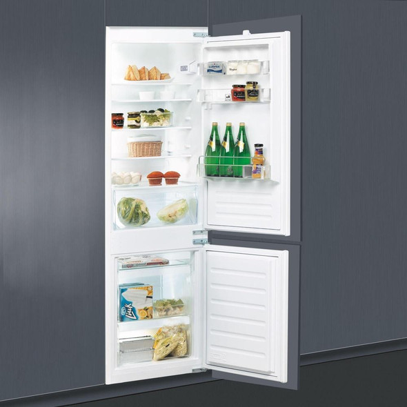 Whirlpool, ART6550A+SF, 70/30 Stop Frost Integrated Fridge Freezer, White