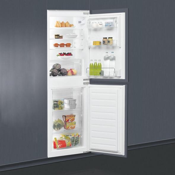 Whirlpool, ART4550A+SF, 50/50 Stop Frost Integrated Fridge Freezer, White