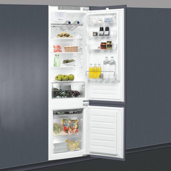 Whirlpool, ART228/80A+SF, 70/30 Frost Integrated Fridge Freezer, White