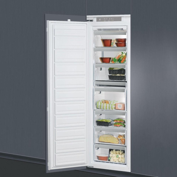 Whirlpool, AFB1843/A+, Integrated 6th Sense No-frost Freezer, White