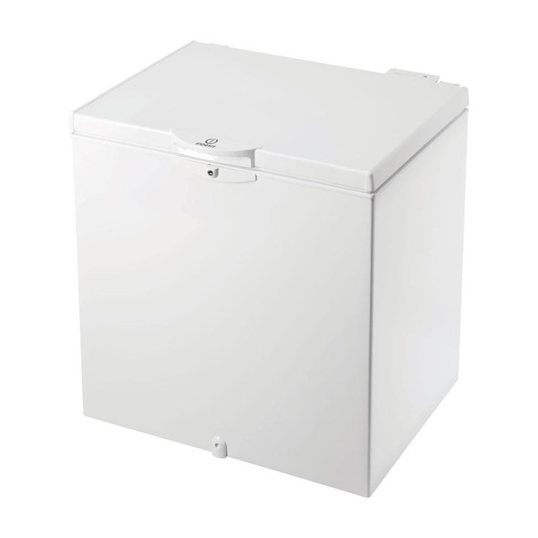 Indesit, Os1a200uk, 204 Litre Chest Freezer, White