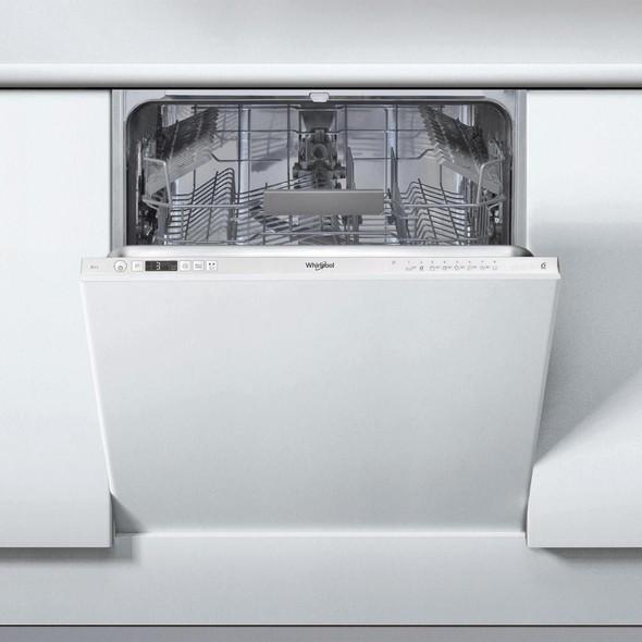 Whirlpool, WIC3C26UK, 6th Sense 14 Place Dishwasher, Silver