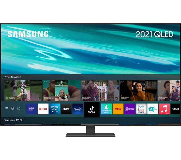 SAMSUNG, QE55Q80AATXXU, 55'' 4K OLED Smart TV