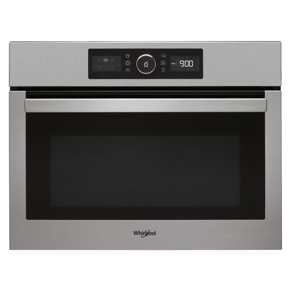 Whirlpool, AMW9615IX, Built In Combination Microwave Oven, Silver