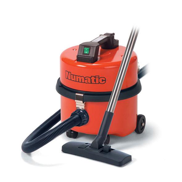 Numatic, NQS250, Metal Body Vacuum Cleaner, Red