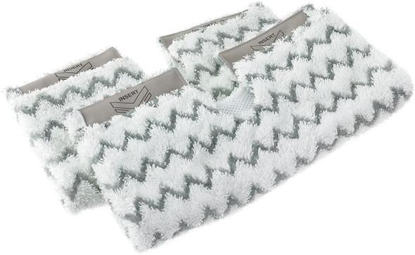 Shark, DIRTGRIP2EU, Replacement Dirt Grip Pads For Steam Mop, White