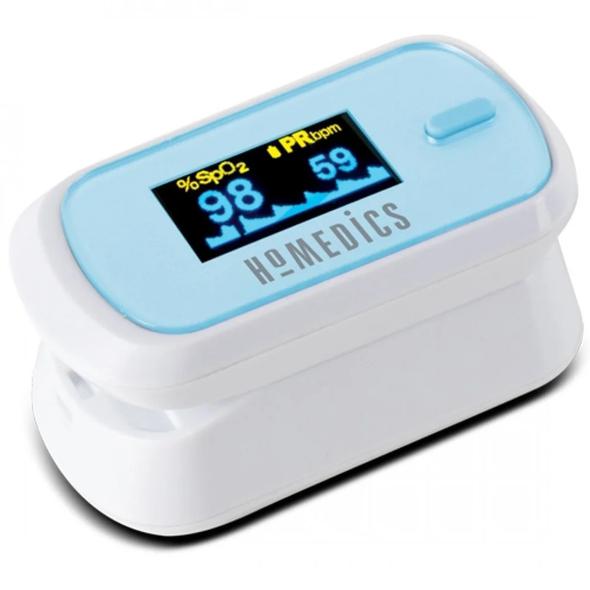 Homedics, PX-101-EU, Oxywatch Fingertip Pulse Oximeter, White