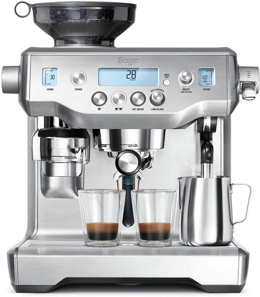 Sage, BES980UK, Oracle Coffee Machine, Silver