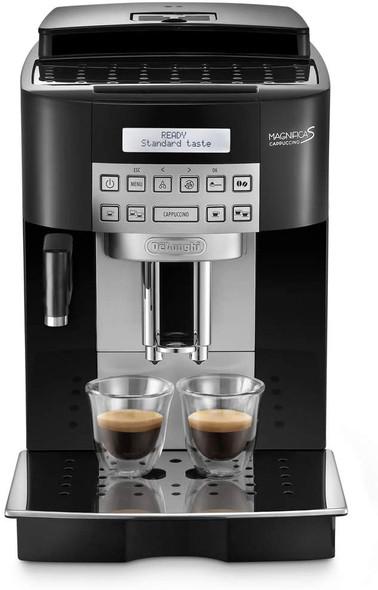 Delonghi, ECAM22.360.B, Fully Automatic Bean To Cup Coffee Machine, Black