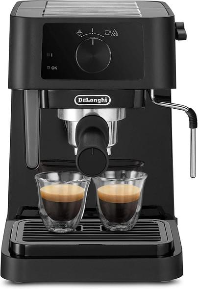 Delonghi, EC230.BK, Stilosa Traditional Pump Coffee Machine, Black
