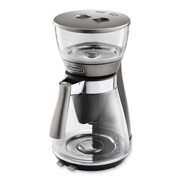 Delonghi, ICM17210, De'longhi Clessidra Filter Coffee Machine, Silver