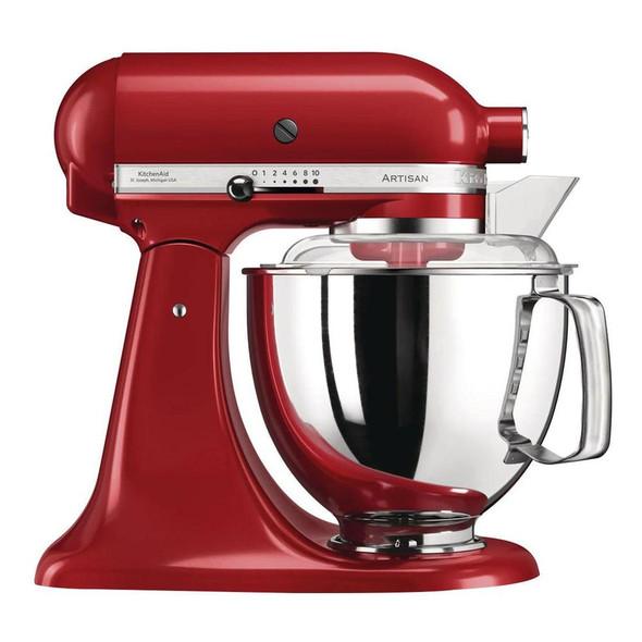 Kitchenaid, 5KSM175PSBER, Artisan Empire Red 4.8l Stand Mixer, Red