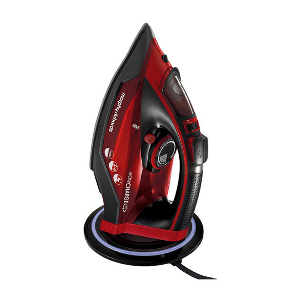 Morphy Richards, 303250, Easy Charge Cordless Iron 2400w, Red