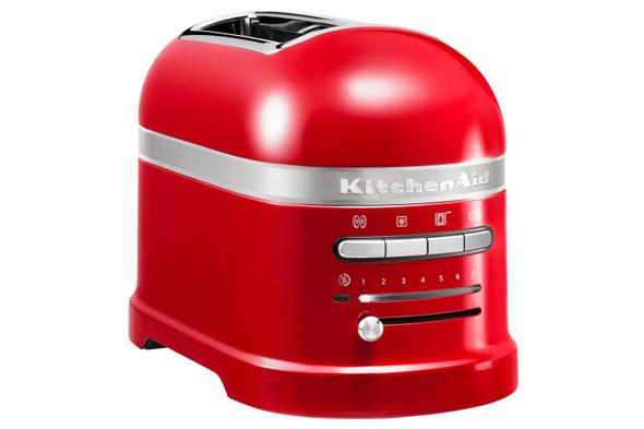 KitchenAid, 5KMT2204BER, Artisan Toaster Empire Red, Red