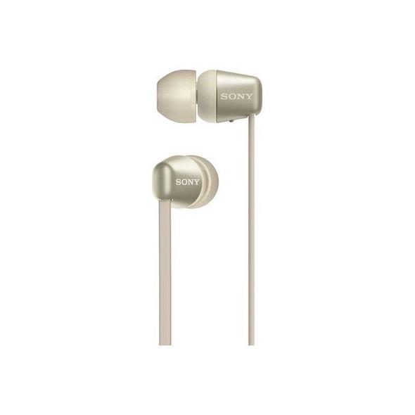 Sony, WIC310NCE7, Wic310 Gold Bluetooth Earphones, Gold