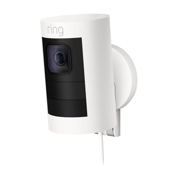 Ring, 64-8SS1E8-WEU0, Stick Up Cam Wired, White