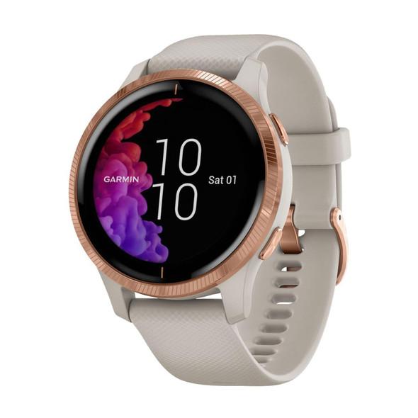 Garmin, 010-02173-22, Venu Smart Watch, Gold