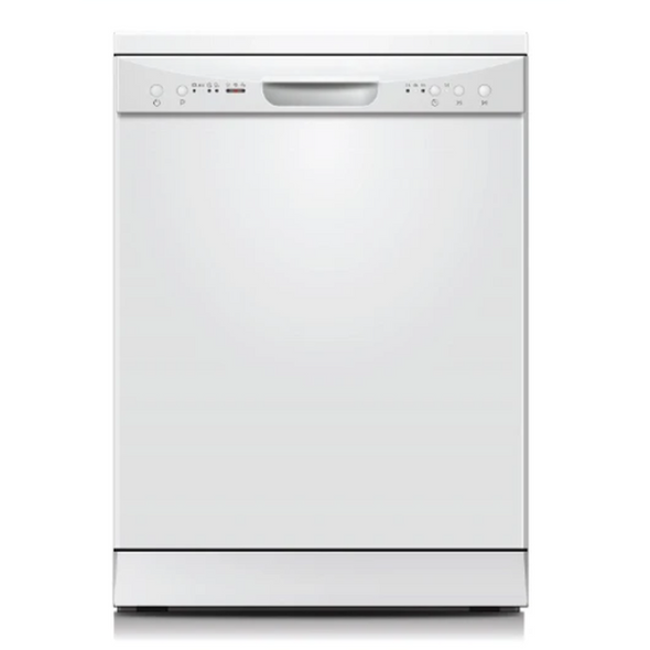 Powerpoint, P2612M2WH, 60cm White 12 Place Dishwasher, White