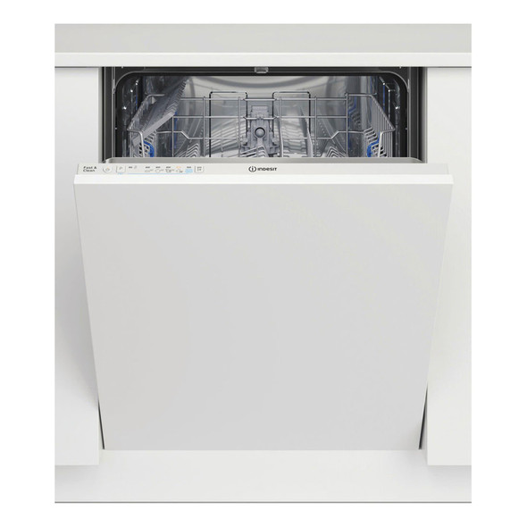 Indesit, DIE2B19, Integrated Dishwasher, White