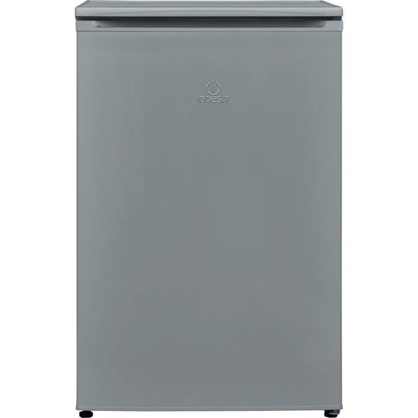 Indesit, I55ZM1110SUK, Undercounter Silver freezer, Silver