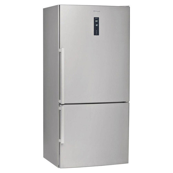 Whirlpool, W84BE72XUK, Frost Free Freestanding Fridge Freezer, Silver